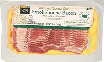 365 Everyday Value, Smokehouse Bacon Reduced Sodium, 12 oz
