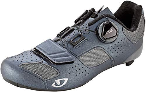 Giro Espada Boa Womens Road Cycling Shoe − 37, Metallic Charcoal/Silver (2020)