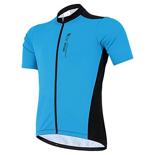 BESPORTBLE 1 Set von Radfahren Jersey Männer Bike Shirts Kurzarm Rennrad Radfahren Kleidung Sommer Bike Tops XXL