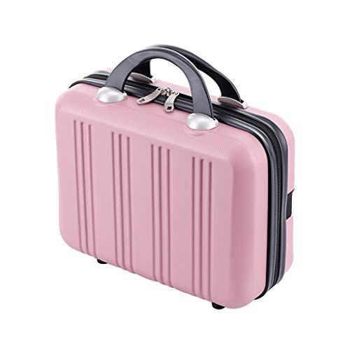Boîte à bijoux/Coffre à bijoux Sac cosmétique portatif multifonctionnel Coffret cosmétique de voyage de grande capacité Sac cosmétique de voyage Organiseur à Bijoux (Color : C)