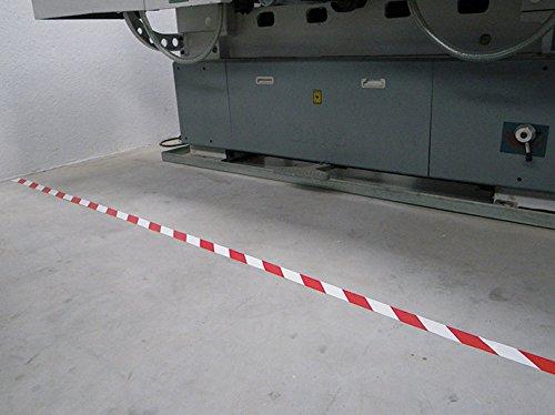 S21Signage ac-018–Klebeband (Quarz, Standard) weiß und rot