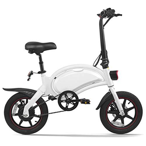 Bicicleta eléctrica, Bicicleta de aleación de Aluminio de 350 W Batería extraíble...