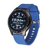 Atlanta 9708 - Fitness tracker con frequenza cardiaca, pressione sanguigna, sonno, passi, display a colori, smartwatch