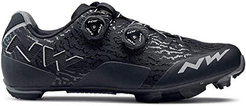 Northwave Rebel MTB Fahrrad Schuhe schwarz/grau 2018 Größe 40