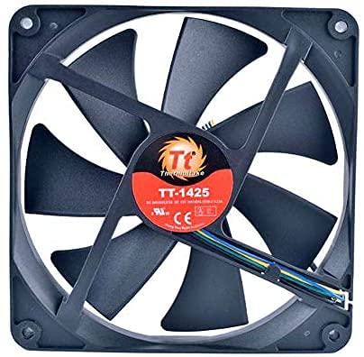 Zyvpee 140mm HA1425L12SB-Z 12V 0.22A 4Wires 4Pin 14cm Fuente de alimentación Ventilador de refrigeración 140x140x25mm