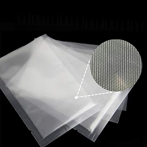 100st keuken voedsel vacuüm Sealer zakken opbergtas voor vacuüm Sealer transparant 15 * 25cm