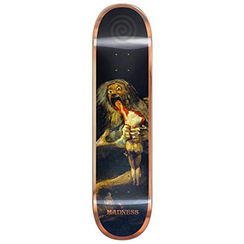 MADNESS SKATEBOARDS Son Bronze R7 Popsicle Skateboard-Brett / Deck, 20,3 cm