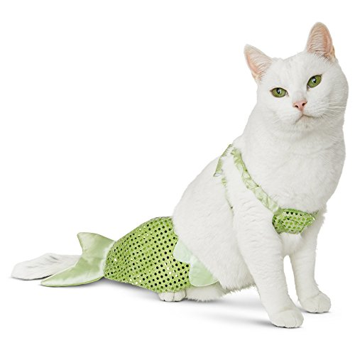 Kitty of the Sea Mermaid Costume - One Size Fits Most - Bootique for Cats