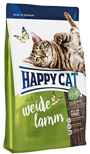 Happy Cat Cibo Secco per Gatti Cura Sistema Urinario Fit & Well Lamb - 1400 gr