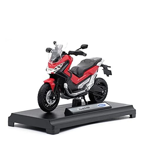 El Maquetas Coche Motocross Fantastico 1:18 para Honda X-ADV Aleación Street Sport Simulación Motocicleta Modelo Colección Decoración Regalo Juguete Coche Regalos Juegos Mas Vendidos