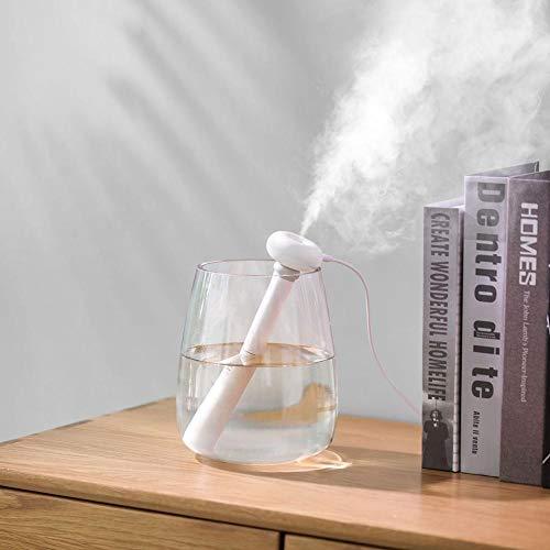 Mini Donut-Luftbefeuchter-Spray-Stumm-USB-Reise-tragbarer innovativer Luftbefeuchter kühler Nebel-ruhiger Betrieb-Luft-Frischer-Gebrauch mit Wasserflaschen Universal für Schlafzimmer-Hauptbüro-Auto