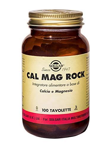Solgar Cal Mag Rock 100 Tav Vitamine ed Estratti Erbali - 0.49 kg