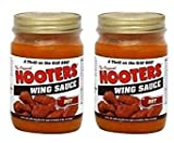 Hooters Wing Sauce Hot, 12 oz (2 pack)
