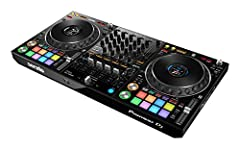 Serato dj Pro compatibility Full-size jog wheels and Magvel fader Portable DJ controller with club-style layout Color on jog display - focus on your performance and keep your eyes off your laptop Professional FX