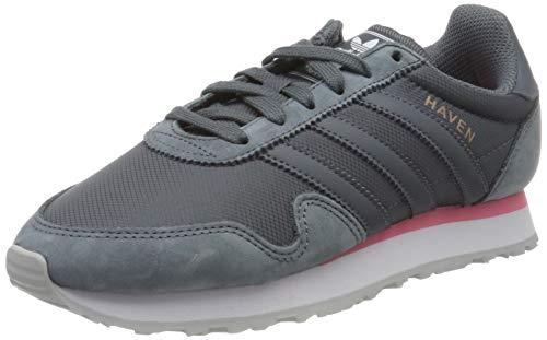 adidas Haven, Zapatillas Mujer, Gris (Dunkelgrau/Grau Dunkelgrau/Grau), 36 EU