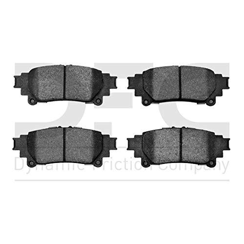 Dynamic Friction Company 3000 Semi-Metallic Brake Pads 1311-1391-00-Rear Set