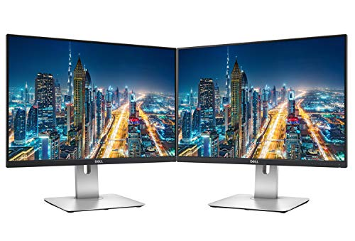 Dell UltraSharp U2415 24 Inch WUXGA LED LCD 2-Pack Monitor Black