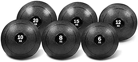 Dead Bounce Slam Ball with Thick Sheel for Explosive Strength, Crossfit Training, Muscle Growth, Workout, Resistance,...