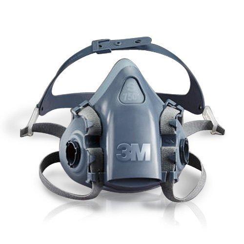 3M Atemschutzmaske Halbmaske 7502 Gas Maske Silikon