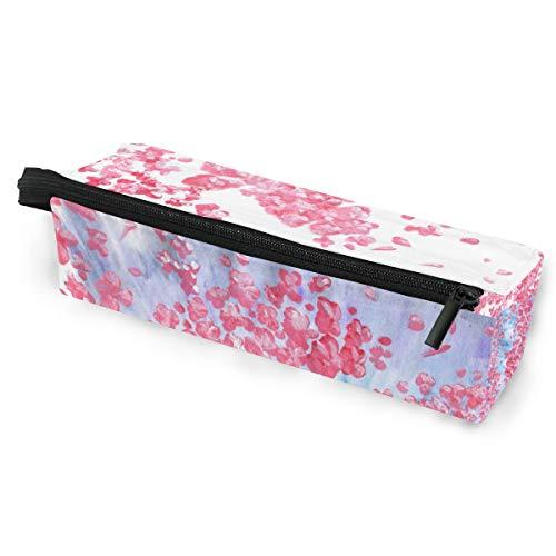 Federmäppchen Sonnenbrille Sakura Blumenmuster Iceberg Cosmetic Students Stationery Pouch Zipper für Mädchen Jungen