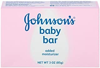 Johnson's Baby Bath Bar, 3 Ounce (Pack of 6) by Johnson's Baby