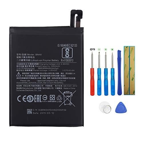 Swark BN48 - Batería compatible con Xiaomi Redmi Note 6 Pro con herramientas
