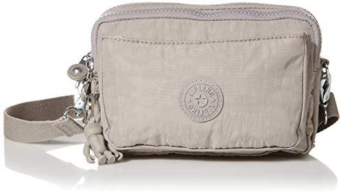 Kipling womens Abanu Multi Covnertible Crossbody Bag, Grey Gris, Small US