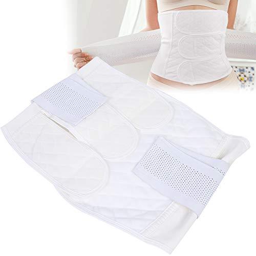 Postpartaler Erholungsgürtel, Bauchband mit gewölbtem Wickeldesign mit guter Elastizität und Knorpelunterstützung, entlastet den unteren Rücken(XL)