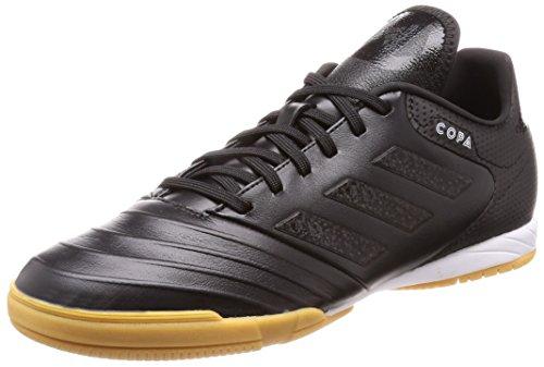 adidas Herren Copa Tango 18.3 IN Futsalschuhe, Schwarz (Negbás/Ftwbla/Negbás 000), 48 EU