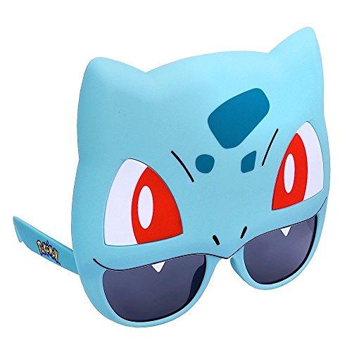 Sun-Staches Costume Sunglasses Pokemon Bulbasaur Party Favors UV400