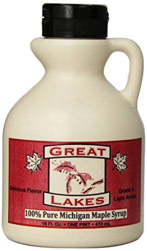 Great Lakes 100% Pure Michigan Maple Syrup 16 Ounce
