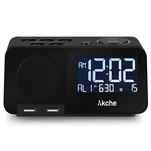 Akche Alarm Clock with FM...