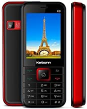 Generic Karbonn K9 Jumbo Mobile Phone with Big Screen and Battery, 2 MP Camera and 2.4 Screen (Black and Red)