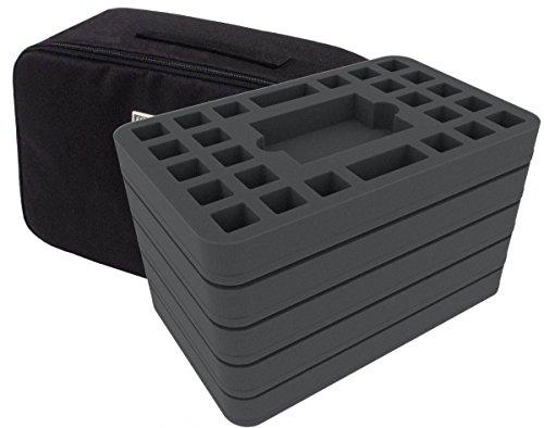 Feldherr Mini Plus Tasche kompatibel mit Star Wars Destiny - 5 Decks und 120 Würfel