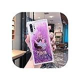 Coque de téléphone liquide tasse de café pour Samsung Galaxy Note 8 9 10 20 Ultra Lite A3 A5 A6...