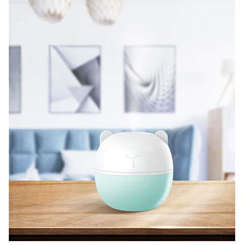 YHHZW Difusor De Aire Esencial Purificador De Aire Mist-Maker Luz Nocturna USB Pig Cute Mini Cool-Mist-Maker Regalos Tamaño De Oficina En Casa 9 × 9 × 9Cm