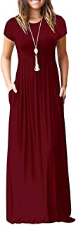 Women's Summer Casual Maxi Dresses Beach Cover Up Loose...