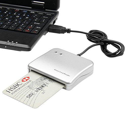 HAWEEL Easy Comm - Lector de tarjetas inteligentes USB para Windows Linux OS