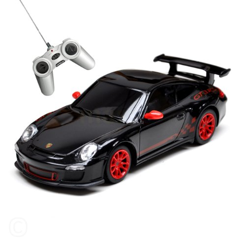 massG® Porsche GT3 RS-R/C car-1:24 scale-Black