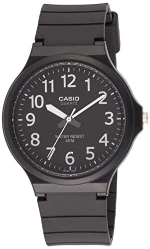 Relógio Masculino Casio Analógico MW2401BVDF - Preto