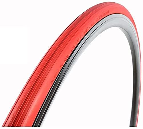 Byrhgood Neumático de Bicicleta Llena Llena  Entrenador - Rojo (Size : 28-559/26 x 1.1)