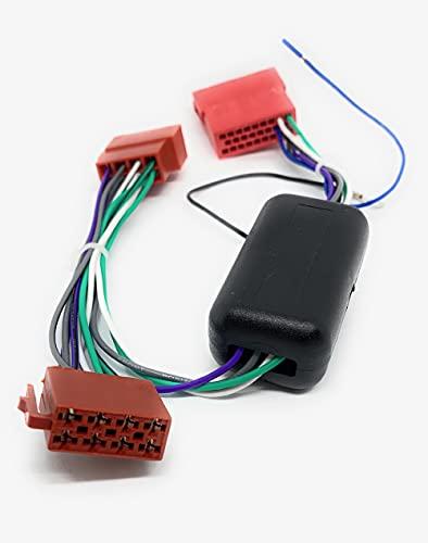 Sound-Way - Adaptador de Sistema Activo de Radio Cable Compatible para Audi A2 A3 A4 A6 A8 TT B5 DSP Bose - CA-17