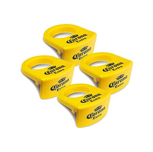 Corona Extra CoronaRita Drink Clips, set of 4, Yellow