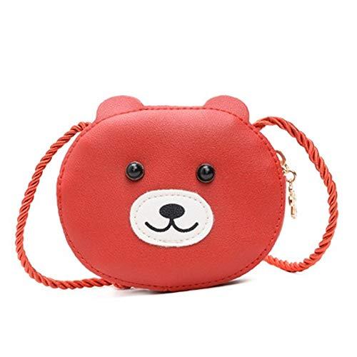 Tasche mädchen Handtasche mädchen Kleinkind Taschen für Mädchen Kindertasche für Mädchen Mädchentasche stilvolle Taschen für Mädchen red