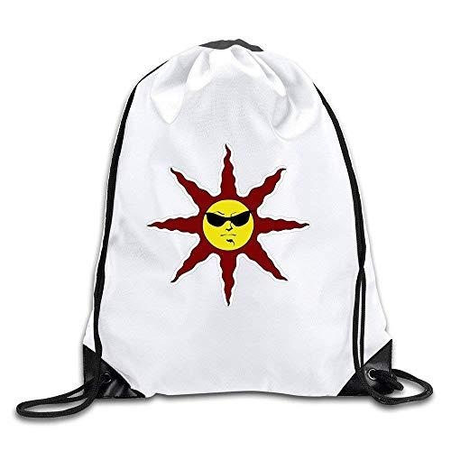 Yuanmeiju Praise The Cool Sun with Sunglass Drawstring Backpack Bag