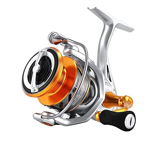 Carretes de Pesca ZWRY Carrete de Pesca 6.2: 1 4.7: 1 Carrete Giratorio anticorrosión 33 Libras Potencia máxima Pesca de Carpa Agua Salada