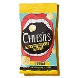 Snack de Queso Crujiente Cheesies, Gouda. Sin Carbohidratos, Alto en Protínas, Sin Gluten, Vegetariano, Ceto. 12 Bolsas de 20g.