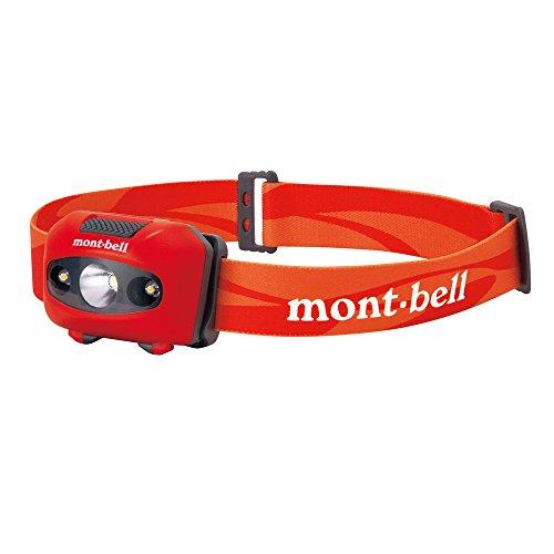 (mont-bell)モンベル パワー ヘッドランプ 1124586 RD レッド