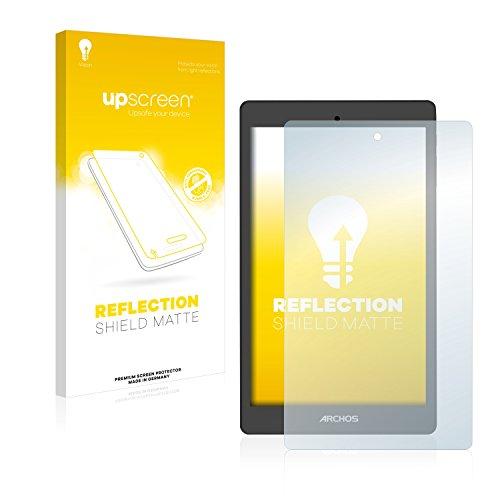 upscreen Entspiegelungs-Schutzfolie kompatibel mit Archos Oxygen 80 – Anti-Reflex Bildschirmschutz-Folie Matt