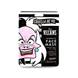 Mad Beauty, Mascarilla Facial Hidratante Cruella de Vil, Disney Cruella Sheet Face Mask